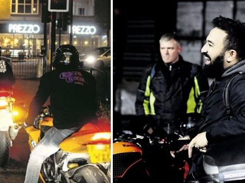 Vigilante courier patrols streets in stab-proof vest hunting moped gangs