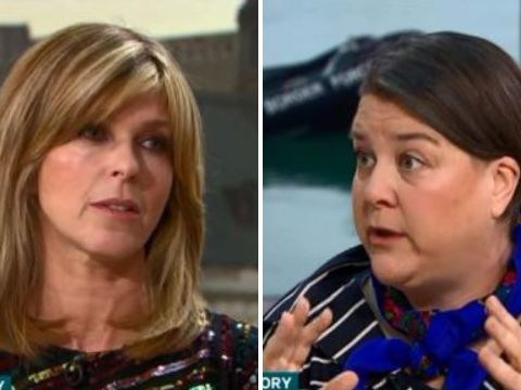 Kate Garraway grills refugee charity spokesperson over 'migrant crisis' in heated debate: 'When would you stop?'