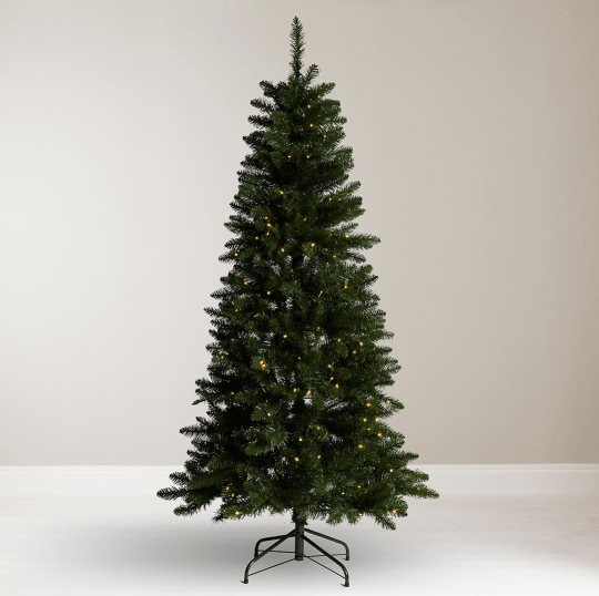 Pre Lit Half Christmas Tree: The Best Pre Lit Christmas Trees From Argos, Asda, John