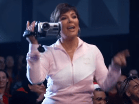 Kris Jenner can't stop saying 'Thank you, next' after starring in Ariana Grande's music video