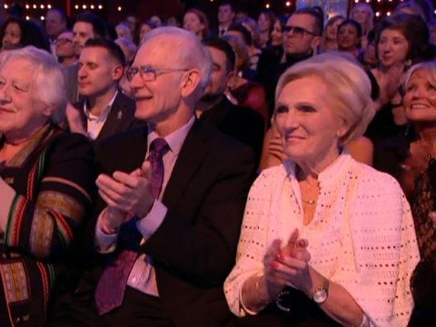 Strictly viewers lose it as Mary Berry is spotted in audience for live final