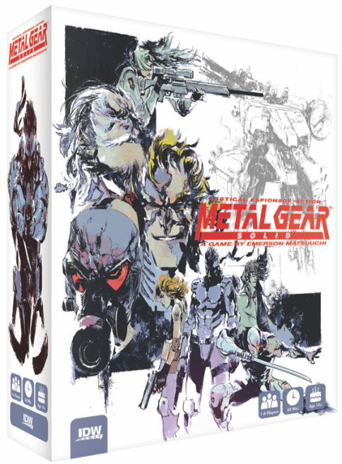 Metal Gear Solid board game announced by Konami and IDW for 2019