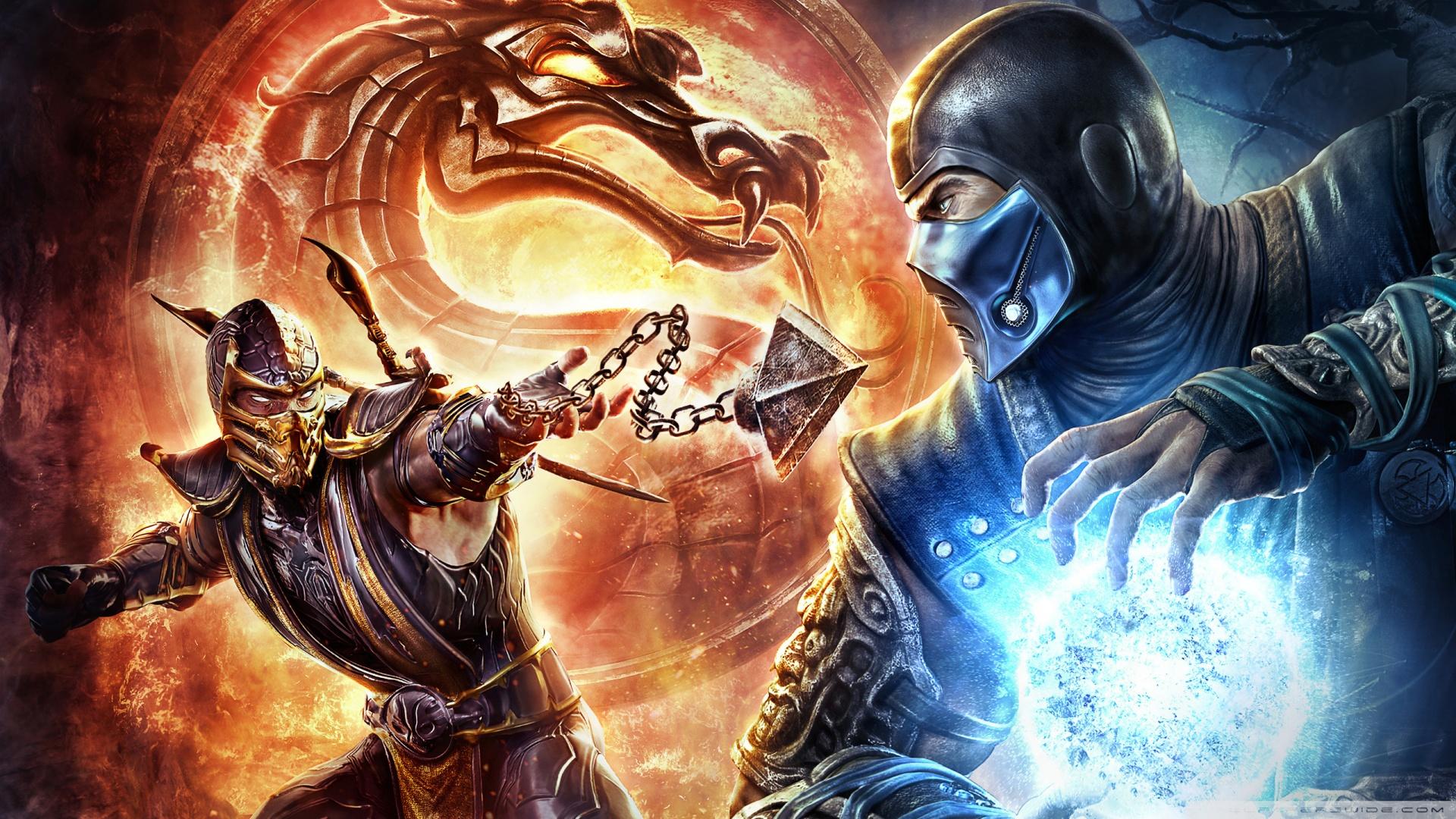 Mortal Kombat - a better story than Smash Bros.?