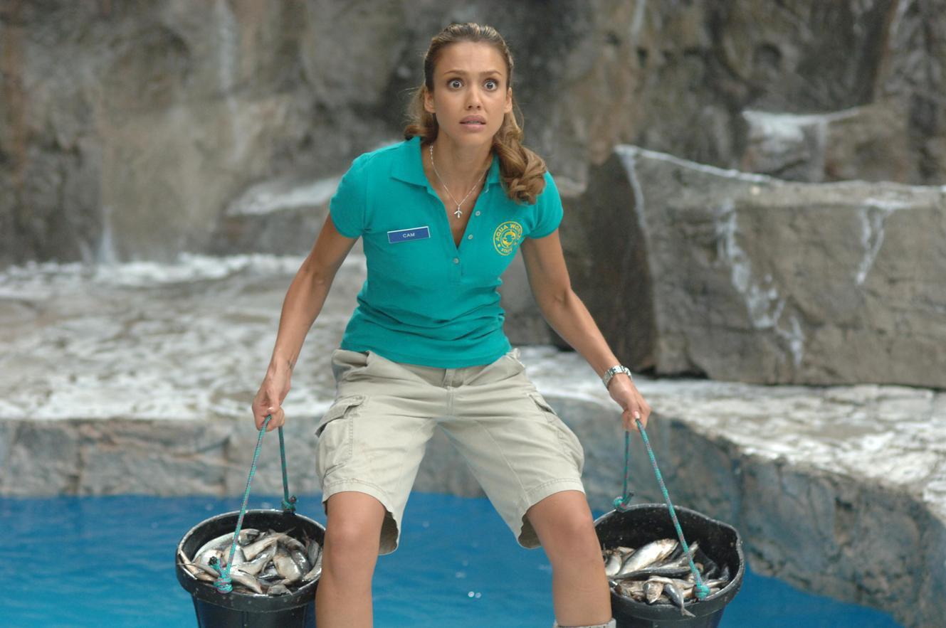 FILM: GOOD LUCK CHUCK (2007) Jessica Alba
