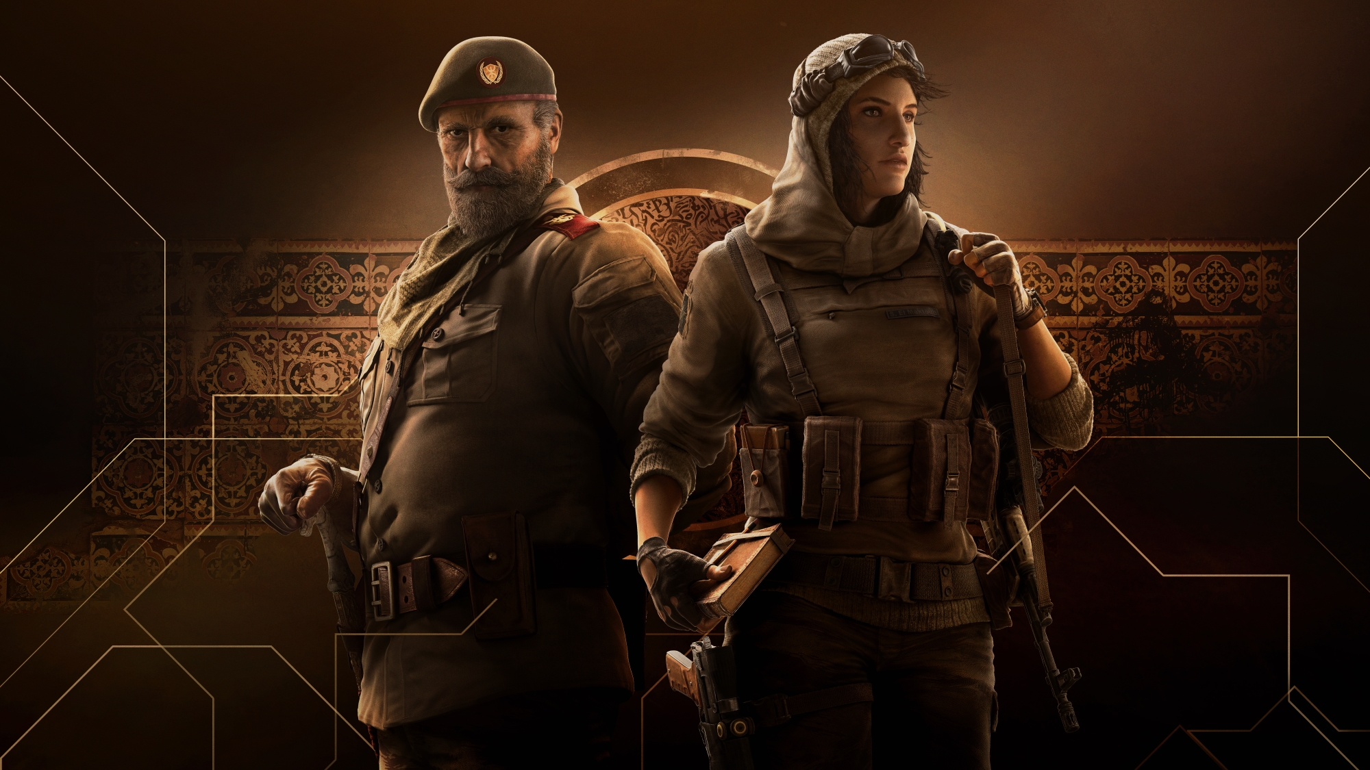 Rainbow Six Siege: Operation Wind Bastion - two new operators and one new map