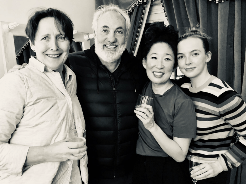 Killing Eve cast celebrating Golden Globes 2019 nomination is the reunion pic you didn't know you needed