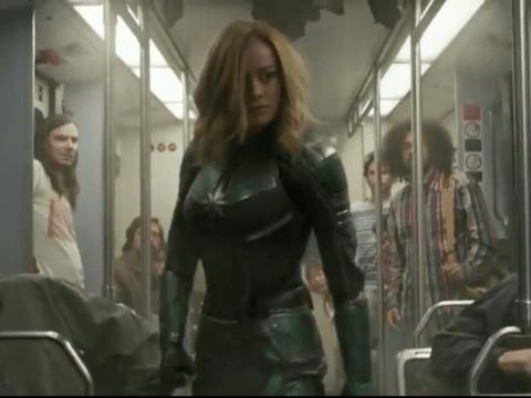 Brie Larson prepares us for the strongest hero yet as she kicks butt in new Captain Marvel trailer