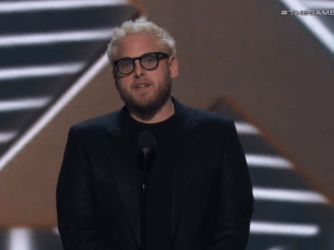 Jonah Hill debuts a new peroxide hair do at The Game Awards and fans think it looks rather familiar