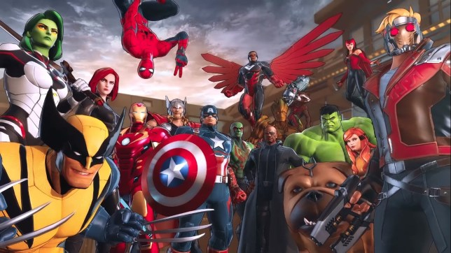 Marvel Ultimate Alliance 3 - the gang's all here