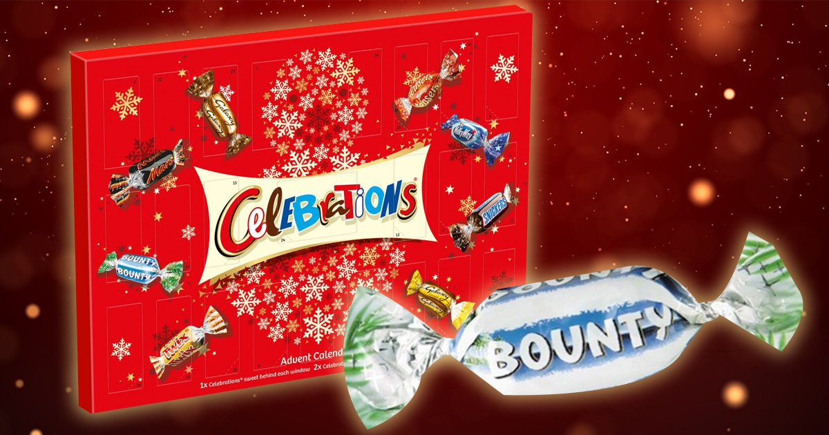 Celebrations advent calendar sparks fury and calls that 'Christmas is cancelled' over what's behind door number 1