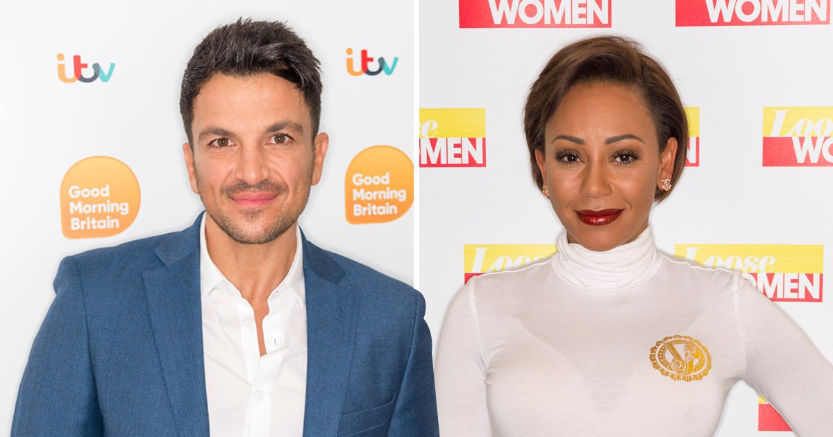 Mel B dishes on 'booty call' Peter Andre