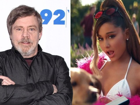 Star Wars star Mark Hamill stans Ariana Grande as much as the rest of us