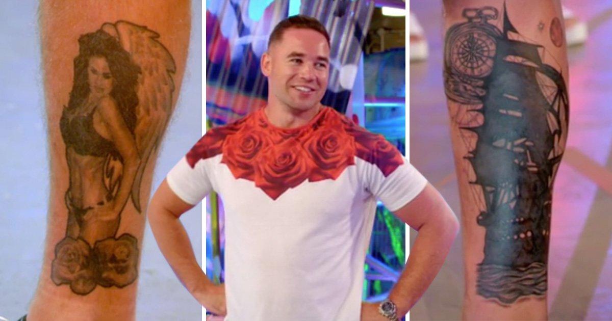 Kieran Hayler covers up huge Katie Price underwear tattoo dedicated – with a ship