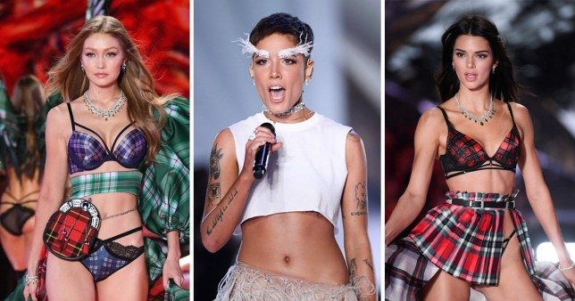 Halsey slams Victoria's Secret Fashion Show - despite performing