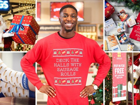 Greggs launches Christmas gift range