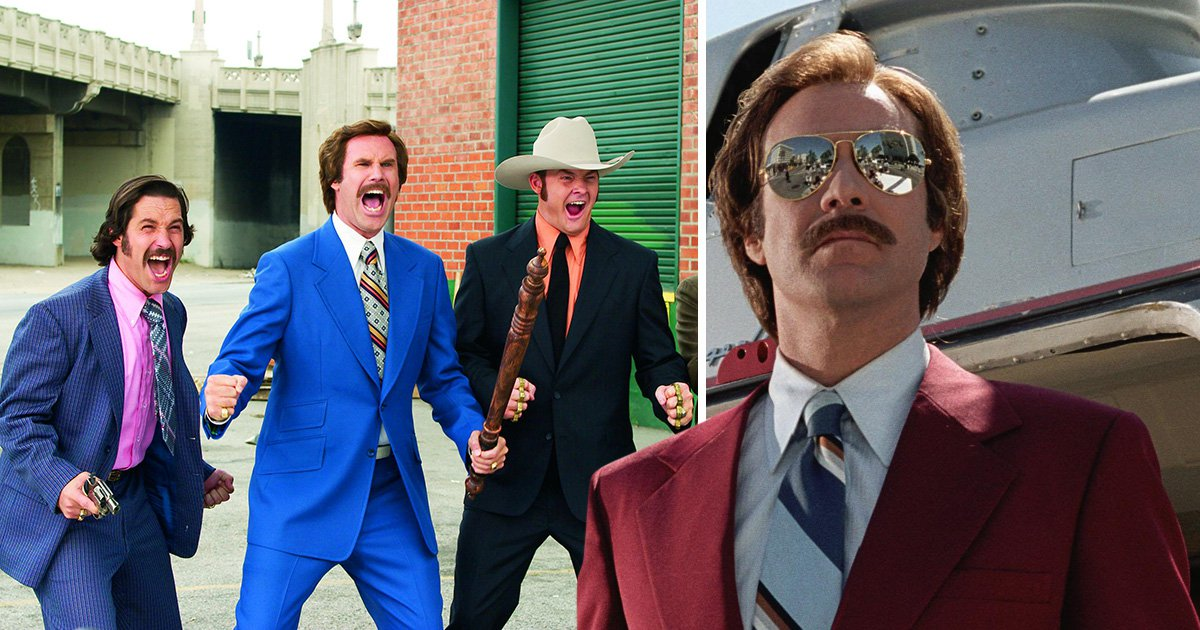 Anchorman's Ron Burgundy proves he's kind of a big deal as he lands a new podcast