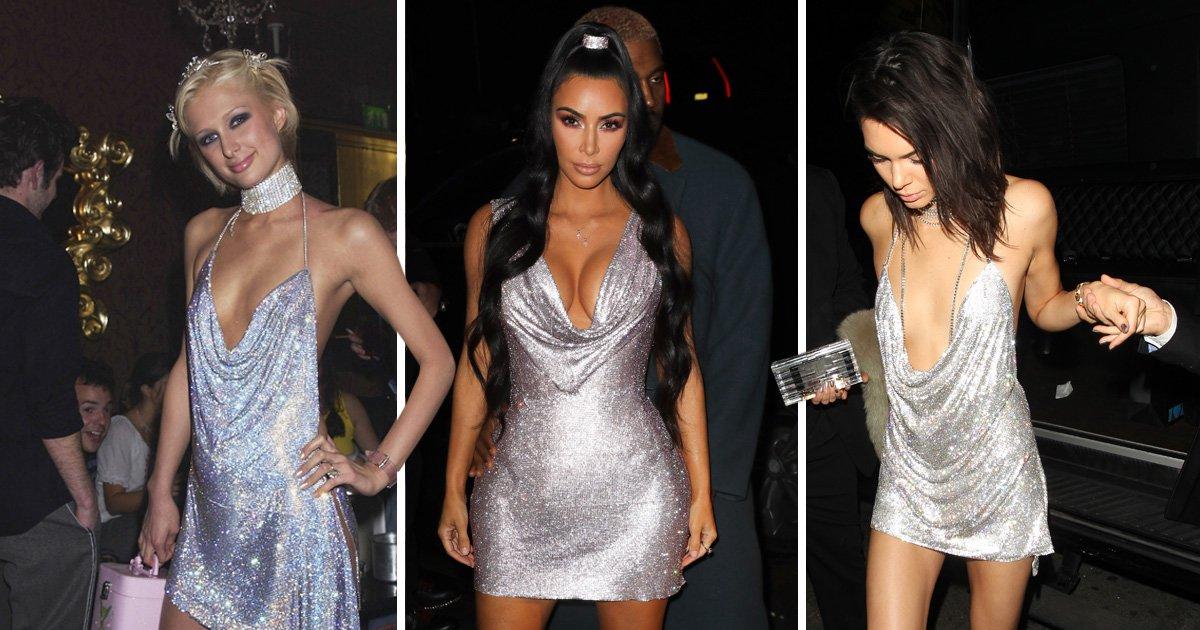 Kim Kardashian's Versace look shows us Paris Hilton is still an inspiration 16 years on