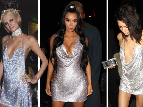 Kim Kardashian's Versace look shows us Paris Hilton is still an inspiration 16 years on