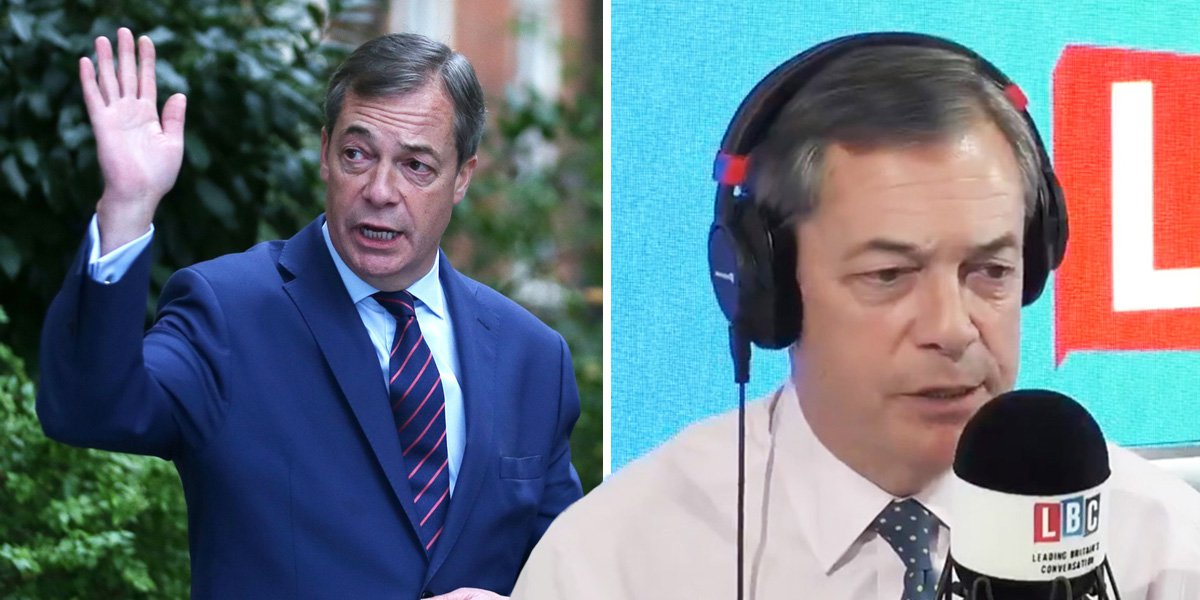 Nigel Farage to quit UKIP as it's 'obsessed with Islam and Tommy Robinson'