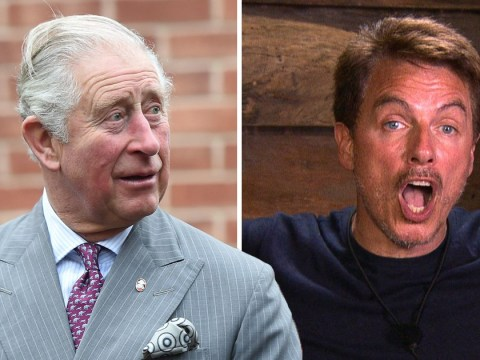 I'm A Celebrity's John Barrowman reveals he weed in Prince Charles' garden once