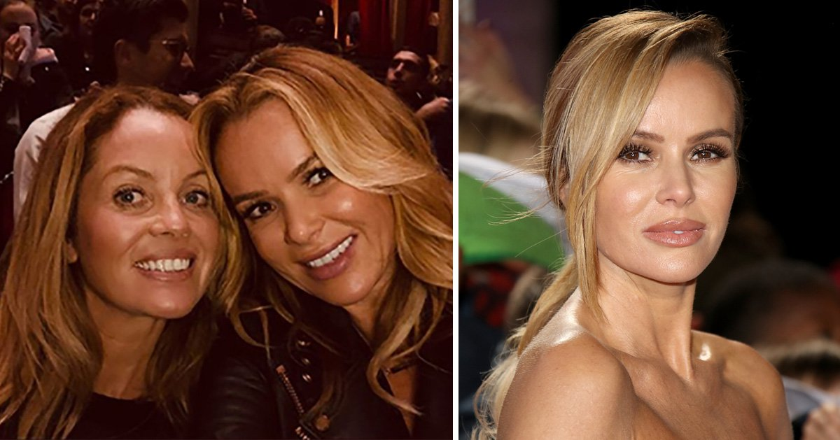 Amanda Holden treats fans to rare photo with sister Deborah as they enjoy girls' night to Muse concert