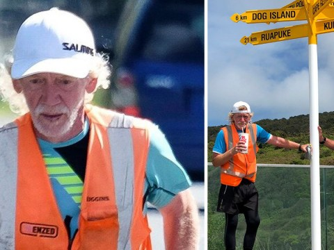 Runner who ran route in record time admits he got a lift