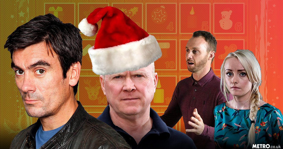 When are the soaps on this Christmas? EastEnders, Coronation Street, Emmerdale and Hollyoaks schedules