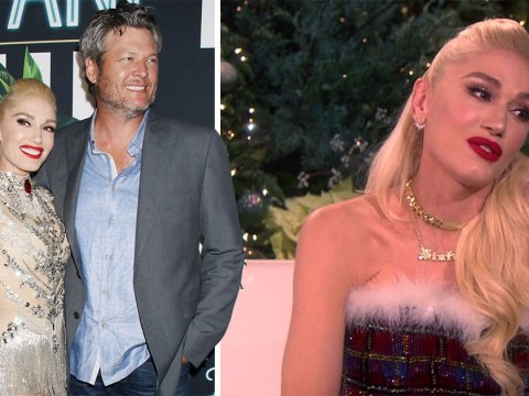 Blake Shelton claims he's engaged to Gwen Stefani but she's not having any of it
