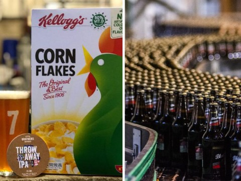 Kellogg's launches beer made from leftover Corn Flakes to reduce food waste