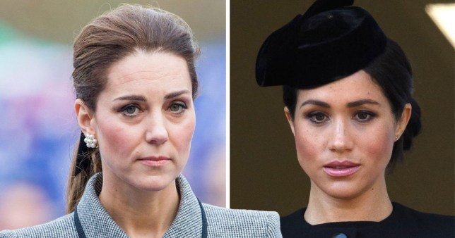 a3130283f2f8 A rundown of Meghan Markle and Kate Middleton's 'rift' as we take a look at  the most intriguing royal rumours in decades