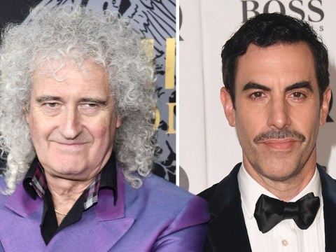 Brian May says Bohemian Rhapsody would be 'a disaster' if Sacha Baron Cohen played Freddie Mercury