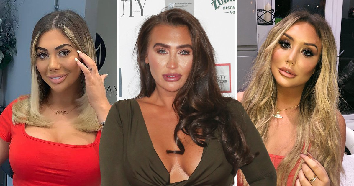 Lauren Goodger bashes Chloe Ferry and Charlotte Crosby for 'unattractive' cosmetic surgery