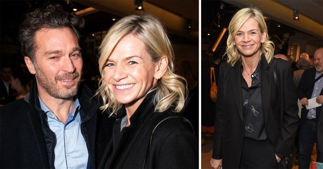 Zoe Ball and Michael Reed