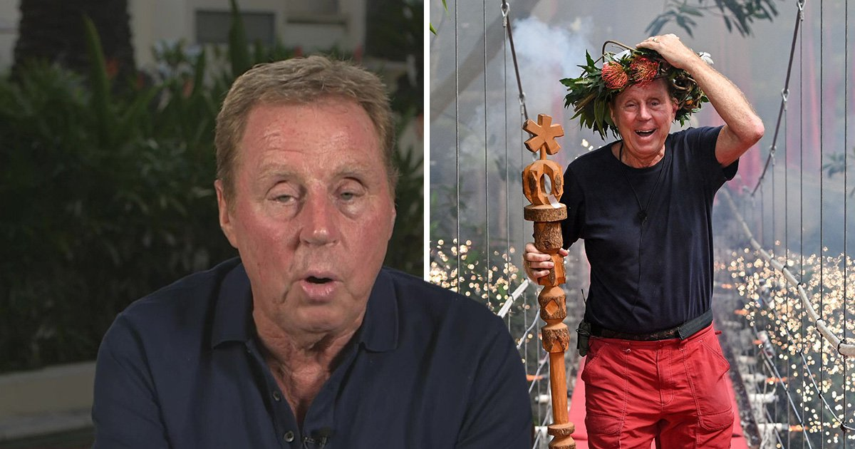 I'm a Celeb's Harry Redknapp admits he thought Emily Atack had 'no chance' with son Jamie until she 'scrubbed up'