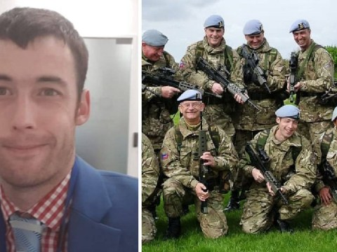 Soldier wanted to kill himself after seeing picture of squaddies with guns pointing at him