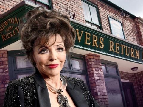 Joan Collins reveals why she won't return to Coronation Street