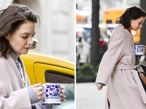Katie Holmes loads up on coffee amid Jamie Foxx wedding rumours