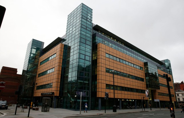 A general view of Liverpool Civil and Family Courts, where a hearing has been held into the death of 13-month-old Poppi Worthington in December 2012.