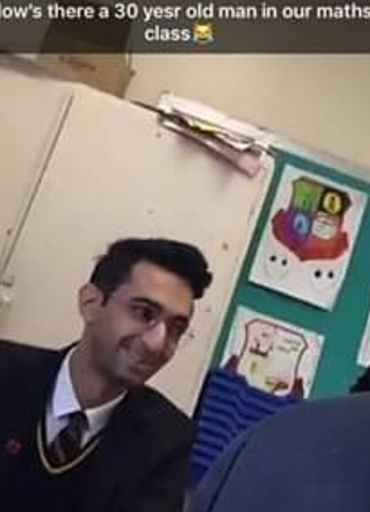 In 2018, an asylum seeker was suspended from an Ipswich school after he was found to be over the age of 18, he was snapped a pupil took a picture of him in a maths class (Picture: East Anglia News Service)