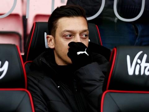 Unai Emery provides Mesut Ozil injury update after Arsenal star misses Tottenham and Man Utd games