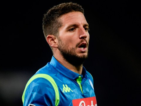 Dries Mertens aims dig at Liverpool ahead of crucial Champions League clash with Napoli