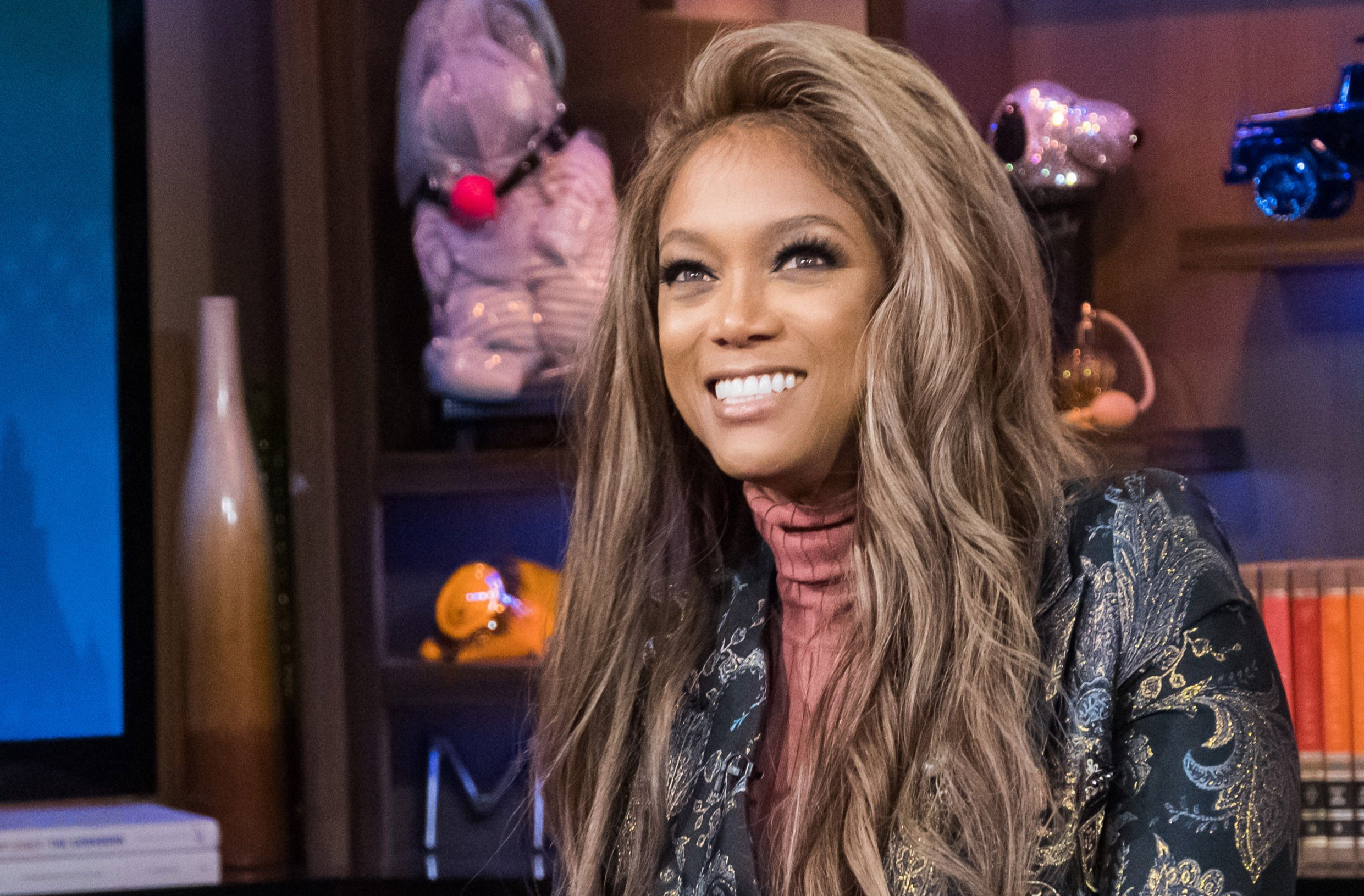 WATCH WHAT HAPPENS LIVE WITH ANDY COHEN -- Pictured: Tyra Banks -- (Photo by: Charles Sykes/Bravo/NBCU Photo Bank via Getty Images)