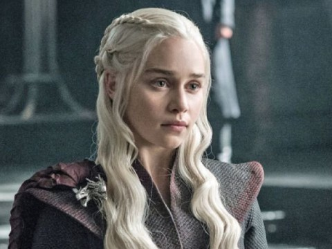 Emilia Clarke tried nicking the Iron Throne from set but it didn't fit in her car