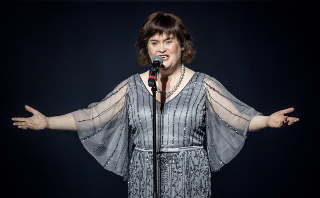 Americas Got Talent Christmas.Susan Boyle S Shares Christmas Message America S Got Talent The
