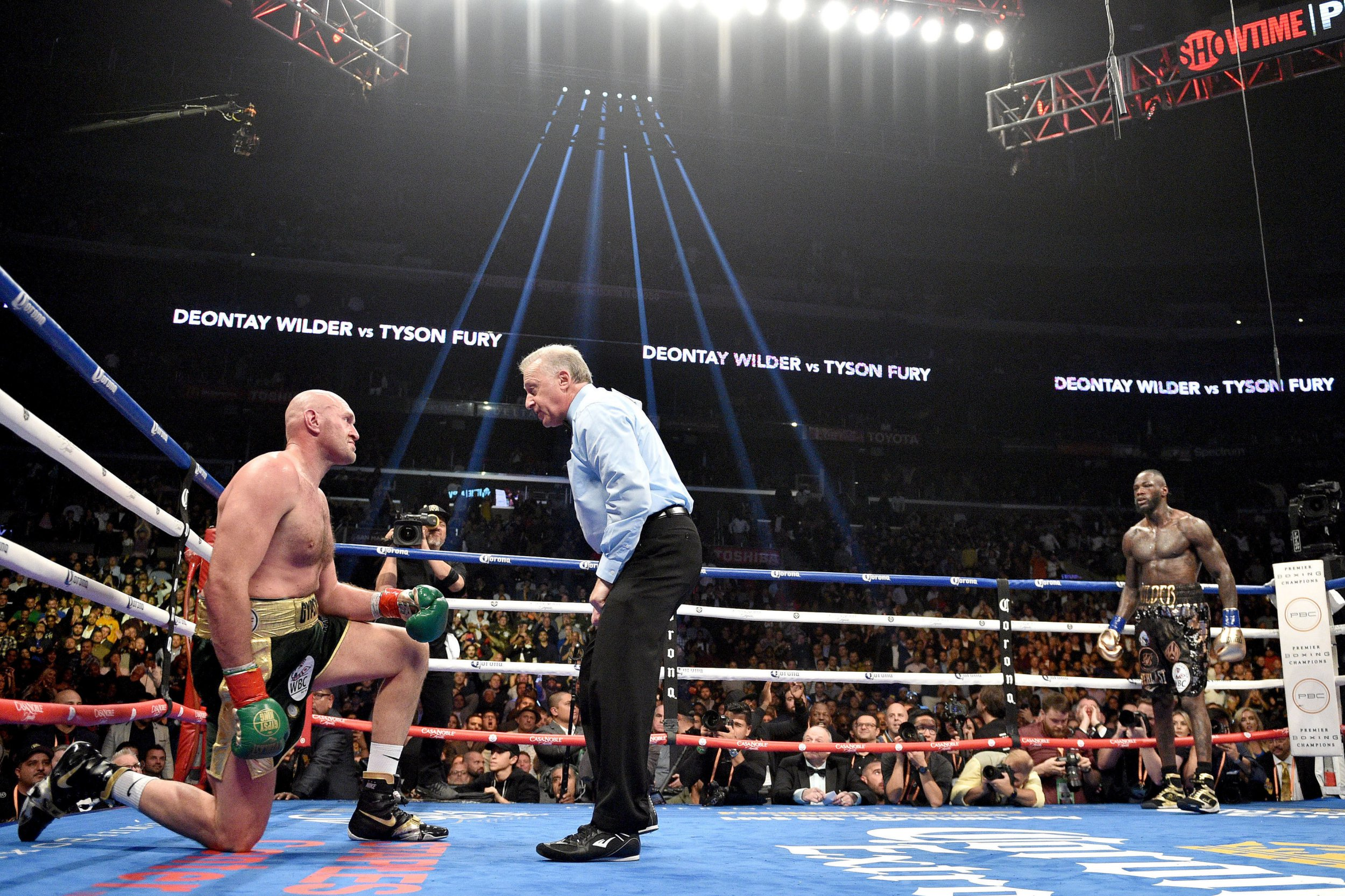WBC sanction 'direct rematch' between Deontay Wilder and Tyson Fury