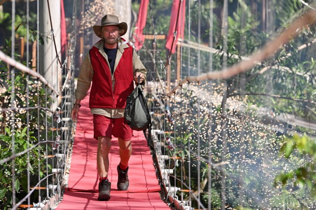 Mandatory Credit: Photo by James Gourley/REX/Shutterstock (10010462z) Noel Edmonds is evicted 'I'm a Celebrity... Get Me Out of Here!' TV Show, Series 18, Australia - 30 Nov 2018