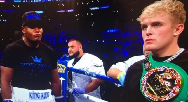 Jake Paul boxing match with Luis Ortiz