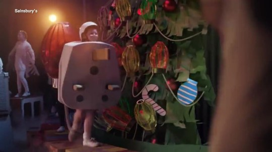 Plug Boy on Sainsbury's Christmas ad 2018
