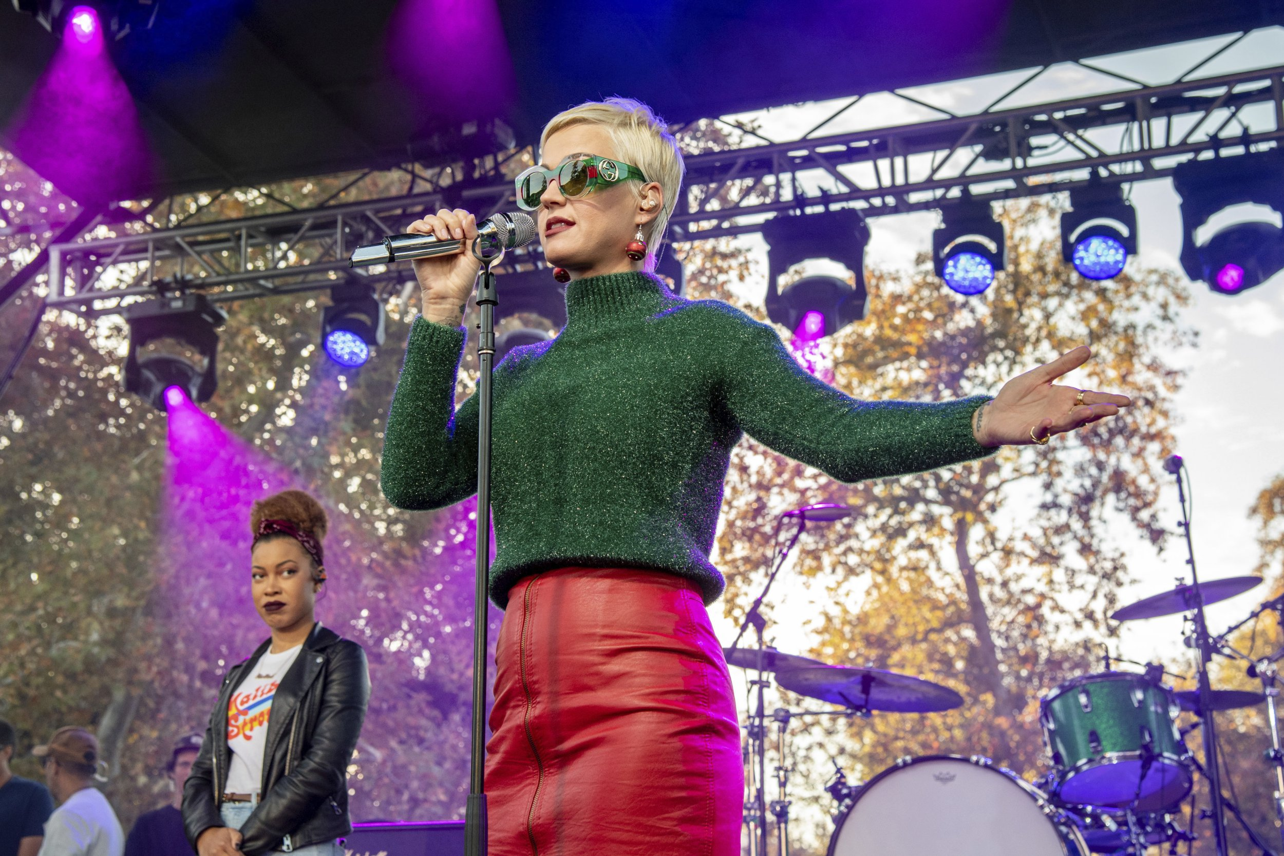 Katy Perry performs at One Love Malibu at King Gillette Ranch on Sunday, Dec. 2, 2018, in Calabasas, Calif. (Photo by Amy Harris/Invision/AP)