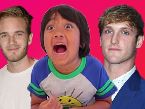 Logan Paul and PewDiePie out-earned by 8-year-old YouTuber